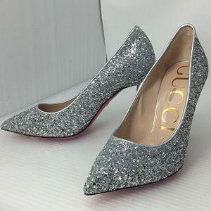 73e7ecef56d1 Gucci Shoes - Gucci Glitter Pumps